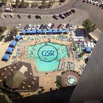 Sierra Bay Aqua Golf and GSR's The Beach pool