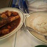 Braised Lamb Shank and Chicken Versailles