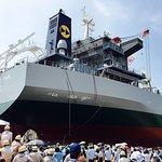 Saiki Heavy Industries Launching Ceremony
