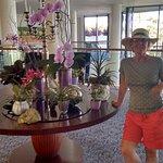 Reception Area - Always had fresh flowers