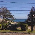 Entrad del hotel vista al mar