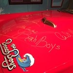 Signed Beach Boy car driven by Dennis Wilson