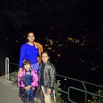 All shimla view in night