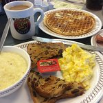 Great breakfast and super friendly staff. Eating at the counter adds to the experience!