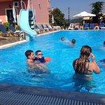 Fun at Telis pool