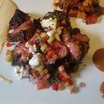 Moroccan BBQ Lamb at Dinner
