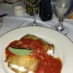 Eggplant Rollitini-the appetizer size I had for dinner