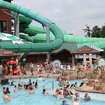 One of the many water parks