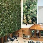 Lobby atrium!