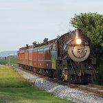 Steam Train passing