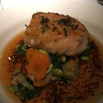 Sablefish with miso broth