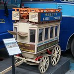A Model of an early London Bus.