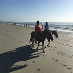 Had a great ride on the beach this morning!