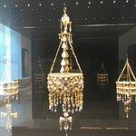 Corona rey visigodo y Dama de Elche