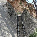 The climb to Alcove House