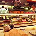 Sushi bar seats
