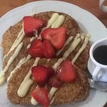 The Coconut French Toast!