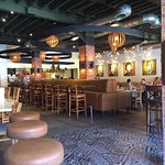 Modern look and open feel make this place a comfortable dining experience.