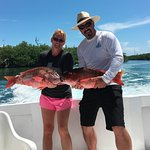 Deep Sea Fishing! Red Snapper