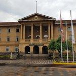 Vista del edificio del Poder Judicial