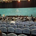 Sala plenaria con capacidad para 5000 personas