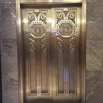 The building elevator...