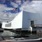 Arizona Memorial from the launch