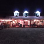 Outside of Restaurant at Night
