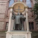 Phillip Brooks statue (Trinity Church)
