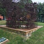 Sculpture in the Third Ward of Milwaukee