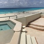 private rooftop balcony in villa