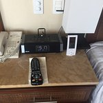 New style iPod docks put in our room during our stay