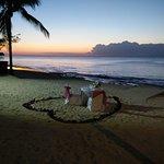 Les diner romantiques sur la plage