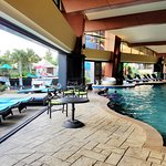 Oasis outdoor and indoor pool