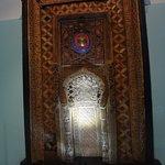 Деревянный мехроб Искодар. X век