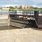 St Andrew's Lock and Dam Foto