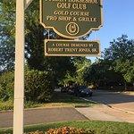 Golf course entrance