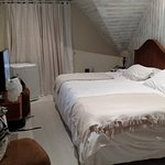 Quarto ótimo,manta termica, aquecedores, tv de tela plana, banheiro maravilhoso, chuveiro excele
