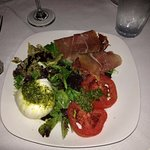 Italian salad served at 15 South....delicious!!!!!