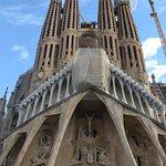 Facade de la Sagrada Familia