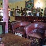 Beautiful bar/dining area