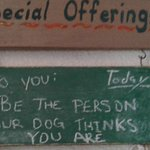 The Crossroads Cafe - Panajachel, Guatemala - Be the person yor dog thinks you are.