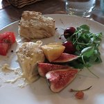 Local fruit and cheese 2 person starter
