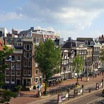 This is the satisfying and desirable Amsterdam view from a City View room.