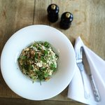 asparagus and truffle risotto