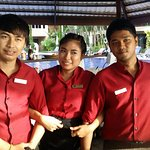 Great staff from the pool bar