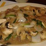 Beef Mushroom Entree