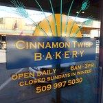 Cinnamon Twisp Bakery, Twisp, WA