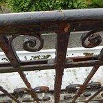 Verrosteter Balkon