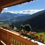 morgens auf unserem Balkon